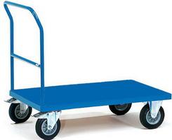Платформенные тележки для склада РТ-02 могут комплектоваться колесами серии...