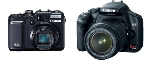 Canon EOS-500D kit 18-55 IS.  FOTOKAMERAS Spoguļkameras.  I-veikals.lv.