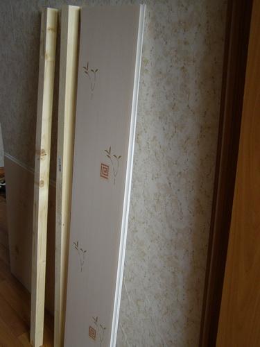 Как сделать шкафчик из панелей пвх
